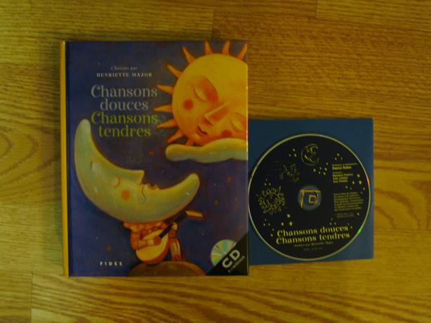 Brand New Benriette Major Chansons Douces Book and CD Set! $2