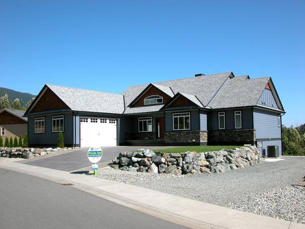 Custom Built Home In Lake Cowichan @ 413 Winter Dr.