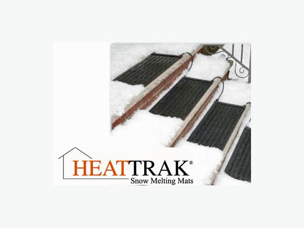 Snow-Melting Stair Mats