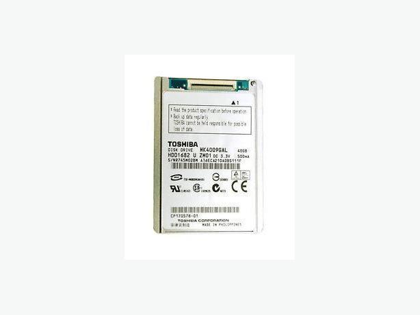 "Toshiba MK4009GAL 40 GB,Internal,4200 RPM,1.8"" (HDD1682) Hard Drive"