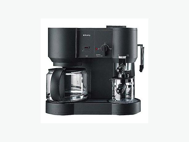 Like New Krups Type 866 Coffee Espresso Cappuccino Trpl Machine! Nepean, Ottawa