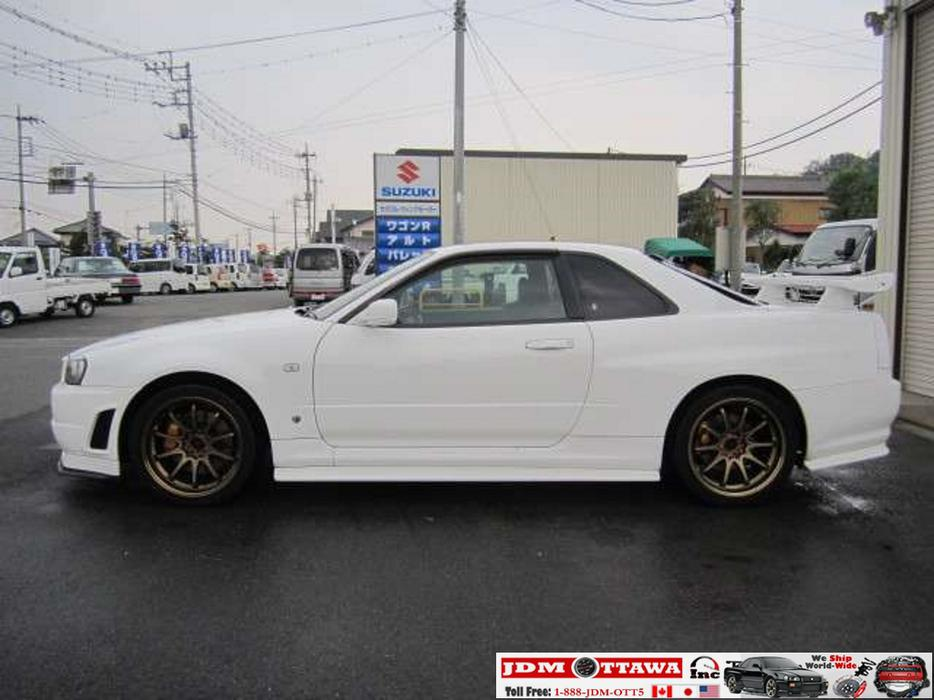 Import A 1999 Nissan Skyline R34 Gtr Bnr34 Rb26dett To