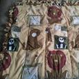 3 assorted crib beddings
