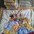 3 assorted crib beddings