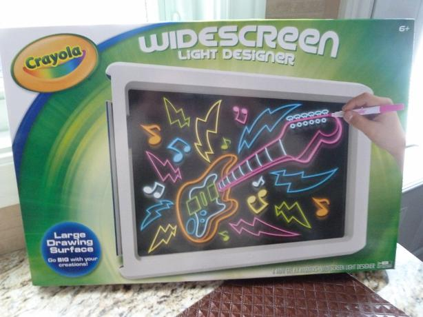 Crayola widescreen light designer instructions