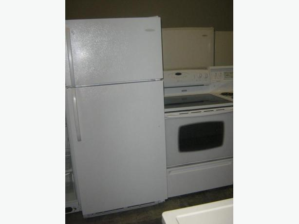 "3 YR FRIGIDAIRE 18 CFT WITH 30"" WIDE MAYTAG GLASSTOP STOVE SELFCLEANIN -"
