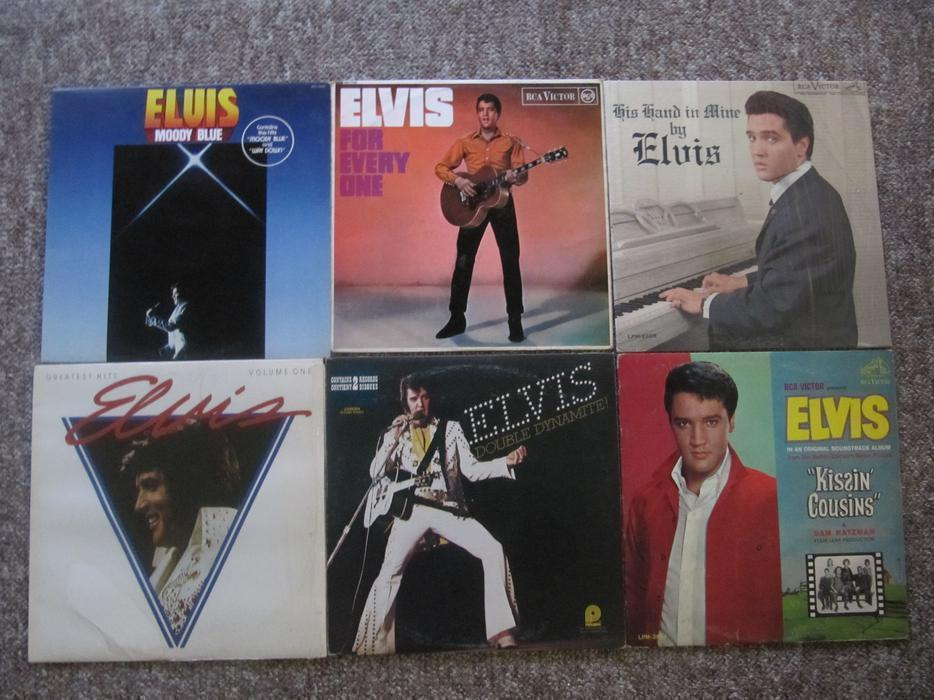 King Of Trade Lethbridge >> Elvis Presley Record Collection. 45 LPs + Boxed Set + 10 ...