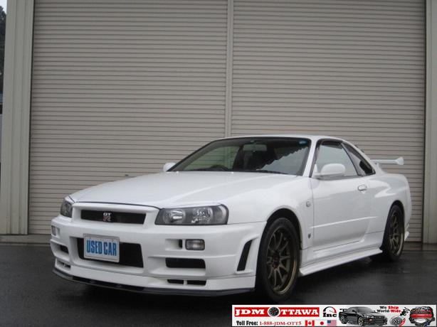 Import a 1999 Nissan Skyline R34 GTR BNR34 RB26dett to Canada ...