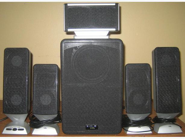Cyber Acoustics CA-5648 Platinum Series Speaker System