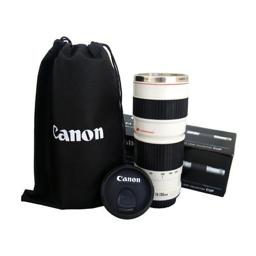 Canon Lens 1 1 Ef 70 200mm White Coffee Mug Stainless