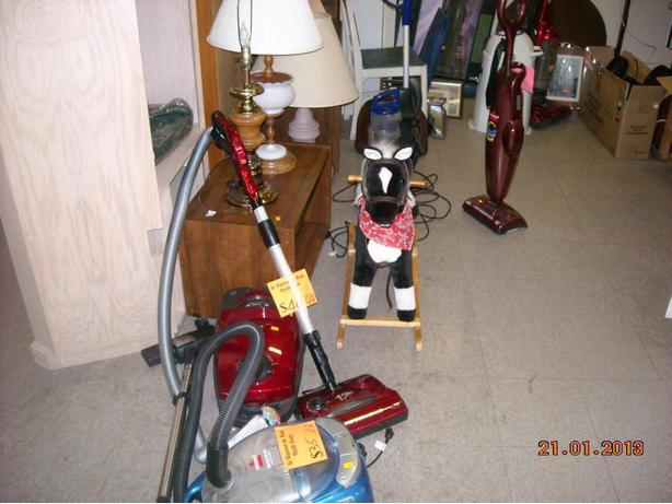 Selection of working Vacuums starting at $15.00