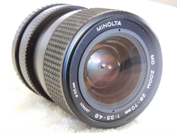 MACRO ZOOM LENS Minolta 28-70 mm f/3.5-4.5 MD
