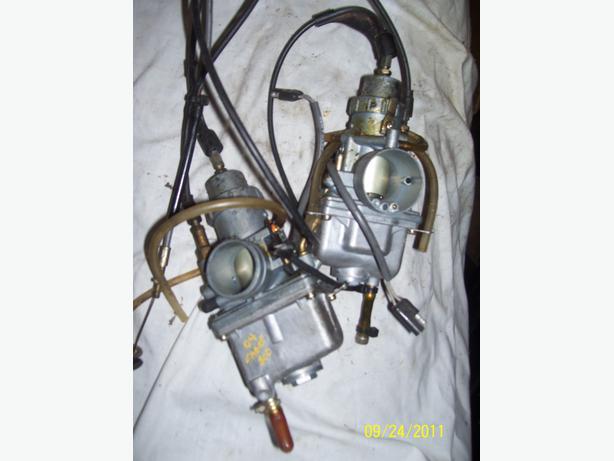 Arctic Cat Sabercat 500 34mm carburetors VM34-598 VM34-610