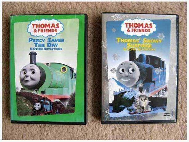 2 Thomas and Friends DVDs