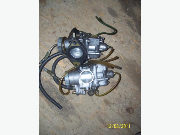 Yamaha Exciter carbs carburetor