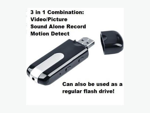 New USB Hidden Motion Detector Camera Voice Recorder 720p