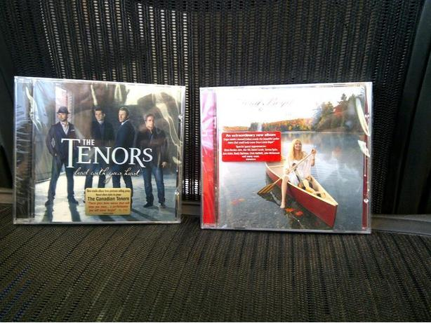 New Canadian Tenors and Liona Boyd CDs