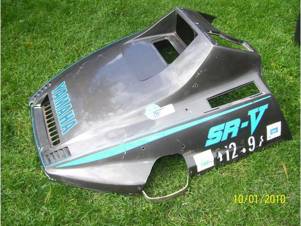 Yamaha SRV 540 hood cab shroud