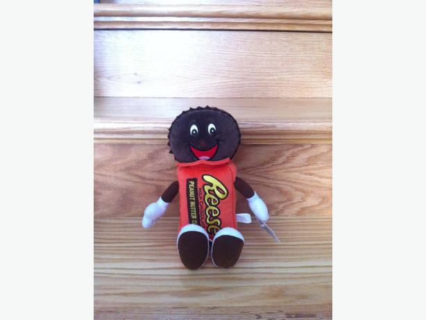 Hershey's Reese Milk Chocolate Peanut Butter Cups stuffed toy