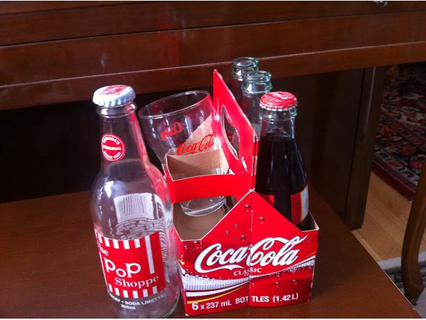 Coca-Cola Classic cardboard case as in pic