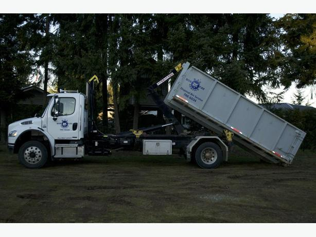 TRUCKING AND BIN DISPOSAL SERVICE