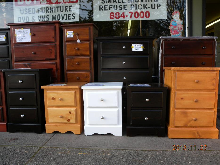 Brand new pine night stands on sale now loi 39 s furniture for Consignment furniture clearwater