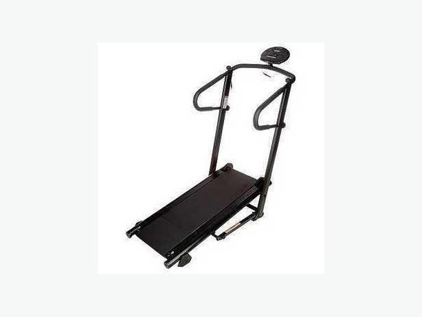 New Edge Fitness Manual Fold-Up Treadmill