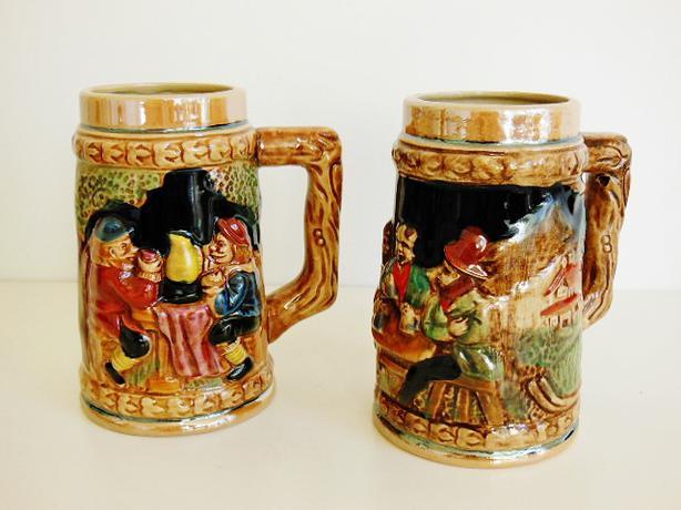 Original King Beer Stein Mug (Set of 2)
