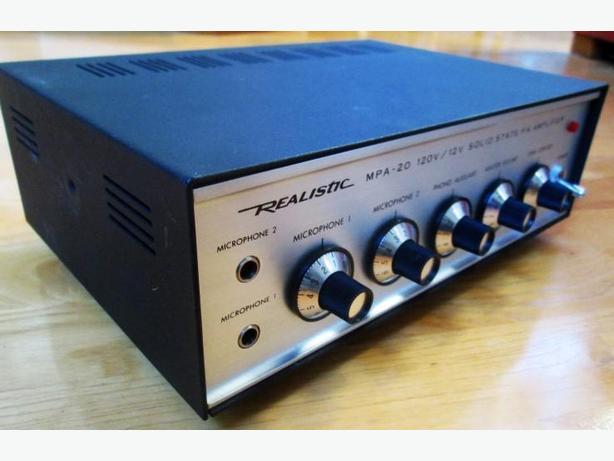 P.A. Amplifier ~ AC/DC