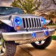 LED Wheel Rings Automotive Halo LED Headlights
