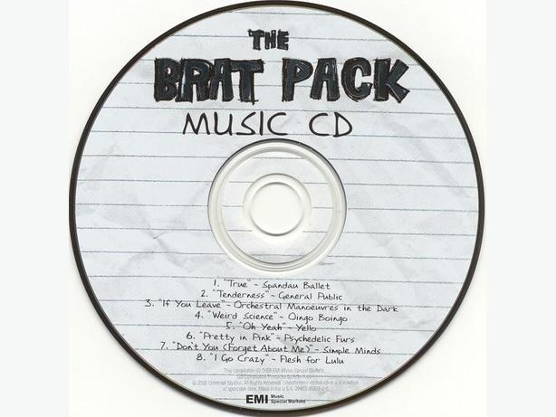Brat Pack Soundtrack (CD)