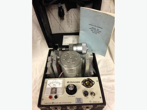 VIBRATION PICKUP AND SYSTEM TESTER model 421
