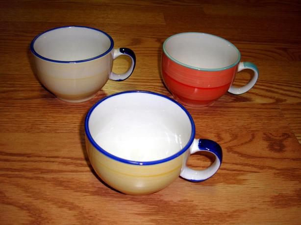 Like New Large Coffee Latte Cups Mugs Excellent