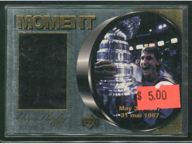 1998/99 McDonald's Upper Deck Ice Gretzky Grand Moment M5