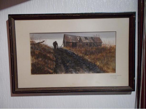 Len Gibbs painting