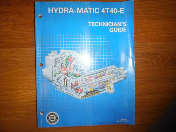 Hydra-Matic 4T40-E Transmission Shop Manual by General ...