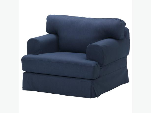 Ikea HOVAS Armchair Cover- Kallvik Dark Blue