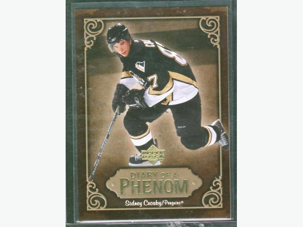 2005/06 Upper Deck Sidney Crosby Diary of a Phenom insert #DP8 Penguins
