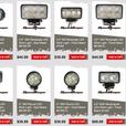 LED Driving + Work Lights, quads, bikes, off-road trucks