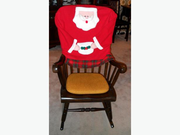 Like-New Cloth Christmas Santa Decor Item