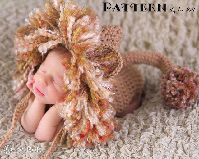 Crochet Animal Hats Photo Props And Crochet Patterns Outside