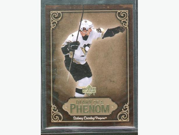 2005/06 Upper Deck Sidney Crosby Diary of a Phenom #DP10 Penguins