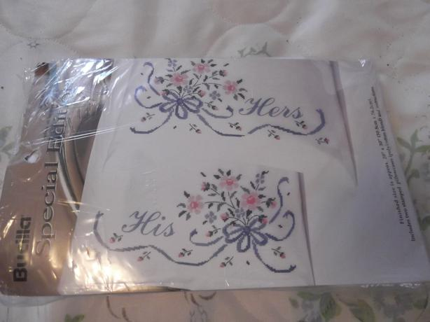 2 new cross stitch kits