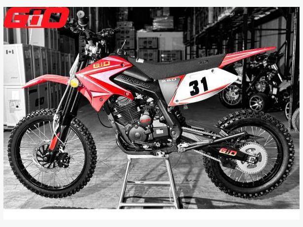 New 250 Cc Dirt Bike X31 By Gio 1599 Authorized Gio