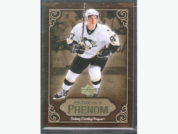 2005/06 Upper Deck Sidney Crosby Diary of a Phenom #DP16 Penguins