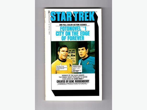 """STAR TREK"" FOTONOVEL SET - Bantam Books / 1977"