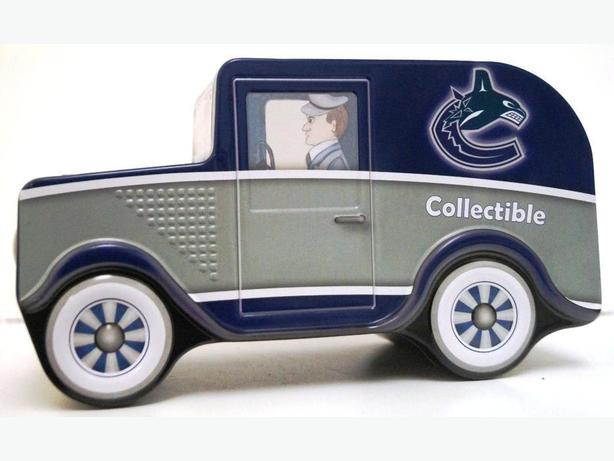 PRICE REDUCED - NHL COLLECTIBLE CAR-PIGGY BOX - NICE GIFT