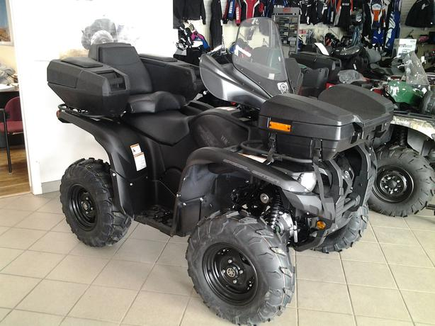 2014 Yamaha Grizzly 700 Se New Stealth Edition