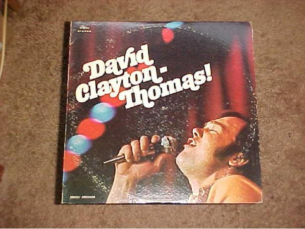 DAVID CLAYTON-THOMAS VINYL LP