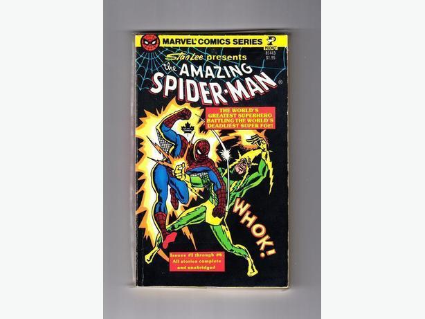 Amazing Spider-Man (Cartoon Paperback - 1977)